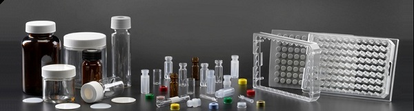 Vials Caps and Racks for Chromatography