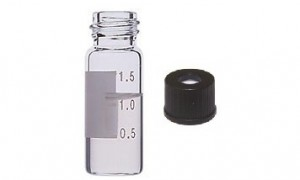 2mL, 10/425 Wide Mouth Screw Top Vials